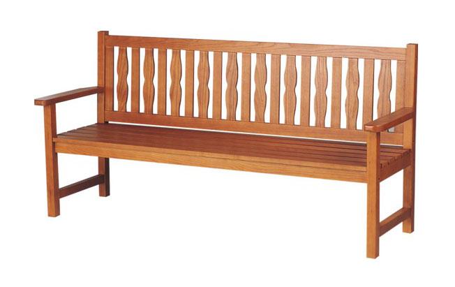 ウッドベンチ/木製ベンチ ベンチYB-67L-WN(背付)【業務用ウッドベンチ 業務用木製ベンチ 屋外用木製ベンチ 屋内用木製ベンチ 屋外・屋内兼用木製ベンチ 屋外用ウッドベンチ 屋内用ウッドベンチ 屋外・屋内兼用ウッドベンチ】