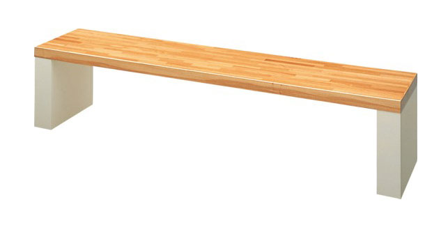 ウッドベンチ/木製ベンチ ベンチYB-11L-WN【業務用ウッドベンチ 業務用木製ベンチ 屋外用木製ベンチ 屋内用木製ベンチ 屋外・屋内兼用木製ベンチ 屋外用ウッドベンチ 屋内用ウッドベンチ 屋外・屋内兼用ウッドベンチ】