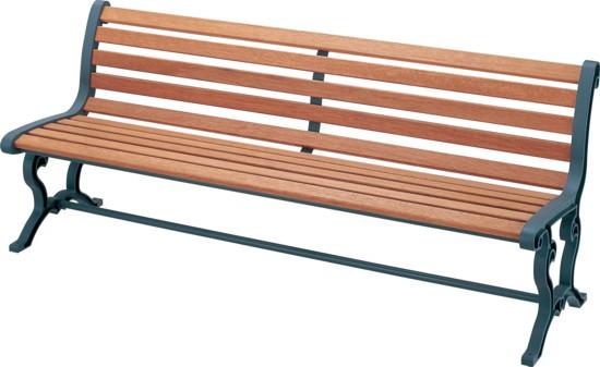ウッドベンチ/木製ベンチ ベンチYB-78L-WN背付肘なし【業務用ウッドベンチ 業務用木製ベンチ 屋外用木製ベンチ 屋内用木製ベンチ 屋外・屋内兼用木製ベンチ 屋外用ウッドベンチ 屋内用ウッドベンチ 屋外・屋内兼用ウッドベンチ】