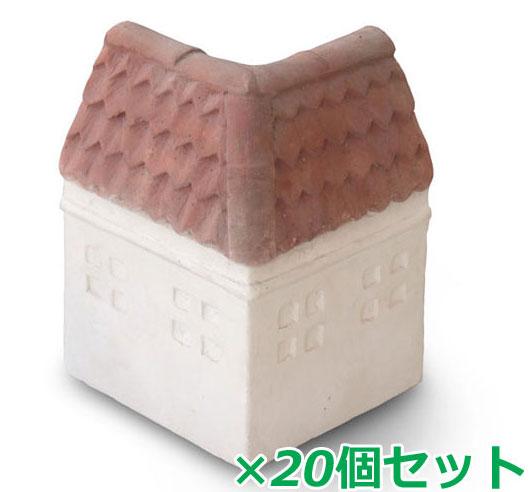 花壇材 ガーデンルーフ R-C 20個セット【コンクリート 花壇 アーチ ガーデン 庭 アプローチ】