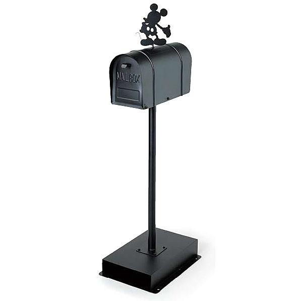 アメリカンスタンドポスト(ミッキー)【ポスト 郵便ポスト スタンドポスト メールボックス ガーデン おしゃれ】