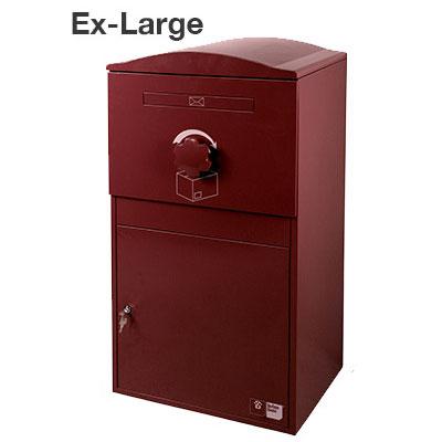 【送料無料】宅配ボックス Brizebox Ex-Large(ブライズボックス EXラージ)【鍵付き 宅配ポスト スチール製 屋外 戸建 荷物受取 複数受け取り対応 おしゃれ かわいい】