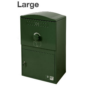【送料無料】宅配ボックス Brizebox Large(ブライズボックス ラージ)【鍵付き 宅配ポスト スチール製 屋外 戸建 荷物受取 複数受け取り対応 おしゃれ かわいい】