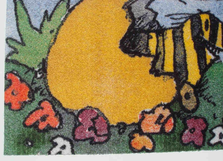 【サイズ変更可能】オリジナルマット(ジェットプリント方式)(90cmx180cm)【写真は見本 厚み6mm カラー18色 エレベータ等変形OK オリジナルマット オーダーメイドマット 業務用玄関マット オリジナル玄関マット オーダーメイド玄関マット】