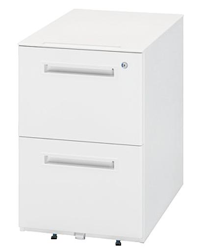 生興 オフィス用品 樹脂天板ワゴン WGN-602WW(ホワイト/ホワイト)【オフィスデスク 脇机 オフィスワゴン A4】