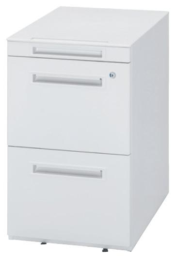 生興 オフィス用品 樹脂天板ワゴン WGN-653WW(ホワイト/ホワイト)【オフィスデスク 脇机 オフィスワゴン A4 ペントレー】