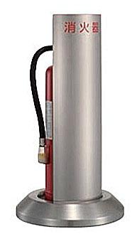 消火器ボックス フロアータイプ PFT-03S-F【消火器スタンド カバー 屋内 オフィス 施設 おしゃれ】