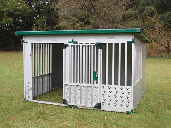 ペット用品 ドッグハウス DFD-2(1坪タイプ屋外用犬小屋)床なしタイプ【小型犬 中型犬 大型犬 犬小屋 】