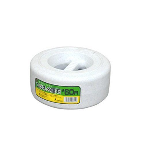 白菜や大根の漬物づくりにつけもの樽 漬物重石#60R SN 6kg 超目玉 1着でも送料無料 漬物石