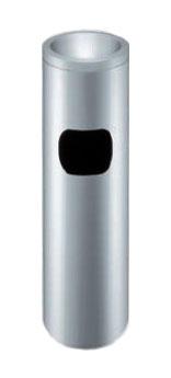 スタンド灰皿 業務用 スモークリン(STヘアーライン) MF-220【業務用スタンド灰皿 屋内用スタンド灰皿 室内用スタンド灰皿 すいがら入れ 吸殻入れ 吸い殻入れ すいがら回収 吸殻回収 吸い殻回収】