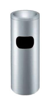 スタンド灰皿 業務用 スモークリン(STヘアーライン) MF-280【業務用スタンド灰皿 屋内用スタンド灰皿 室内用スタンド灰皿 すいがら入れ 吸殻入れ 吸い殻入れ すいがら回収 吸殻回収 吸い殻回収】