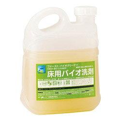 すすぎいらずで簡単 2020春夏新作 洗浄 大一産業 お気に入 ファーストバイオクリーナー 4L×4本 業務用床用洗剤