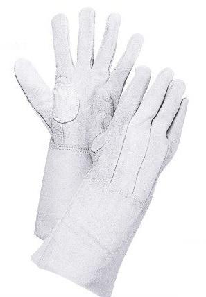 細かい作業に最適 待望 メーカー直送品の為時間指定が出来ない場合があります 大中産業 豚革手袋 南国クレスト 白 10双 卓抜 160W M~LLサイズ 豚表革 代金引換不可商品 皮手袋