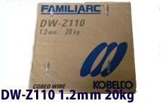 【送料無料(北海道、沖縄、離島は除く)】 KOBELCO/神戸製鋼 軟鋼用フラックス入りワイヤー DW-Z110 1.2mm 1箱(20kg)