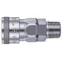 日東工器 ハイカプラ 鋼鉄製 ニトリルゴムNBR SG 市場 30SM 1個 113-1109 有名な