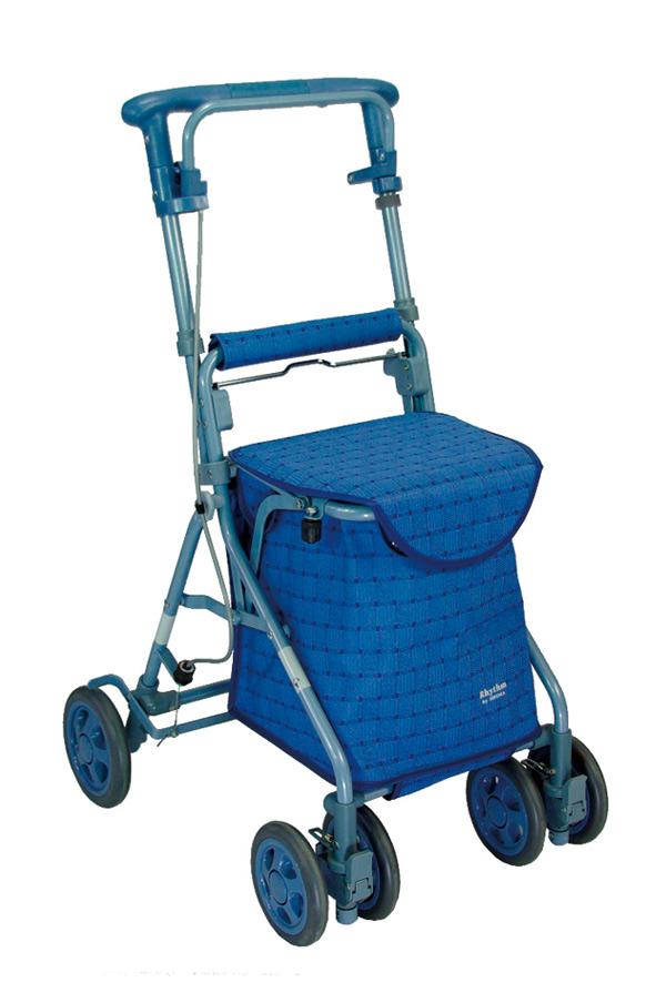 介護 歩行器 シルバーカー 福祉 リズム RWC 島製作所 シルバーカー 歩行器 座面つきタイプ [SG規格適合商品]
