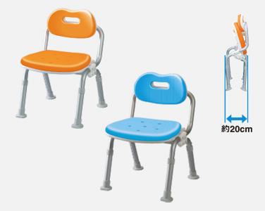 【キャッシュレス5%還元】PN-L40711 パナソニック 椅子 いす シャワー チェアー ユクリア コンパクト折りたたみ 軽量 (折り畳み 防カビ加工 背もたれ サイズ 小 記念日 お誕生日 敬老の日 おじいちゃん おばあちゃん プレゼント)(代引き不可)