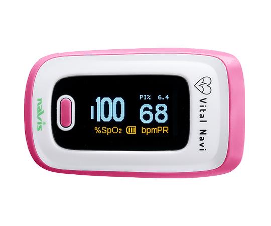 バイタルナビ パルスオキシメータ ピンク CP-1 ( パルスオキシメーター 医療機器 血中 酸素濃度 計 )