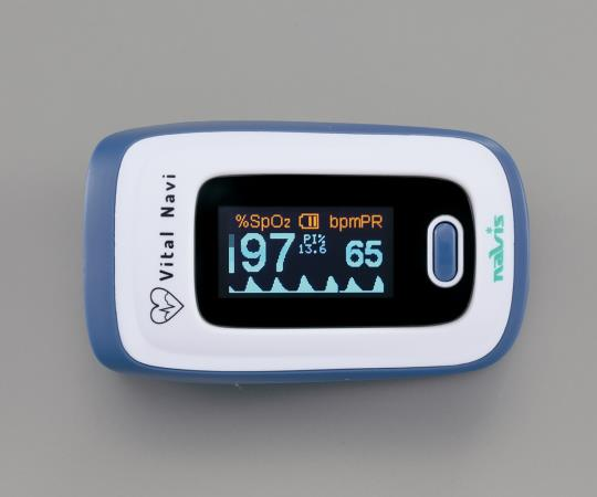 バイタルナビ パルスオキシメータ ブルー CB-1 ( パルスオキシメーター 医療機器 血中 酸素濃度 計 )