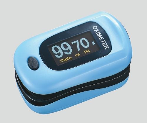 パルスフロー ライトブルー ( パルスオキシメーター 医療機器 血中 酸素濃度 計 )