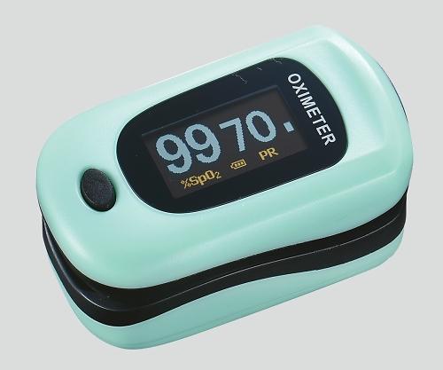 パルスフロー ミントグリーン ( パルスオキシメーター 医療機器 血中 酸素濃度 計 )