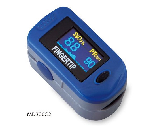 パルスオキシメータ パルティア MD300C2 SpO2 心拍 脈拍 数 バーグラフ SpO2波形 ( パルスオキシメーター 医療機器 血中 酸素濃度 計 )