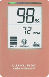 パルスオキシメーター LUKLA 2800 ピンク LKL2800m PK ( パルスオキシメータ 医療機器 血中 酸素濃度 計 )