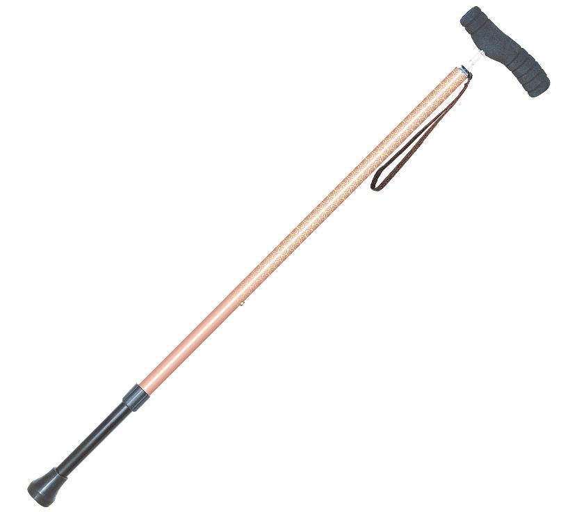 【キャッシュレス5%還元】つえ 伸縮杖 SG規格適合商品 ステッキ 杖 リハビリ 軽量 新品 介護用品 介護 ソフトグリップSOFT-GA