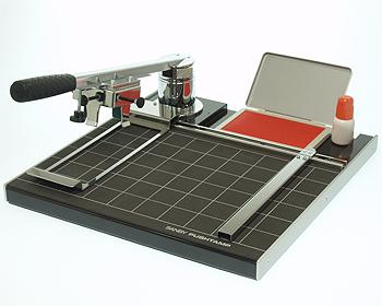 サンビー 捺印器 プッシュタンプ PS-001