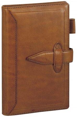 ダ・ヴィンチ グランデ 聖書サイズ システム手帳 ロロマクラシック ブラウン DB3011C 【レイメイシステム手帳】