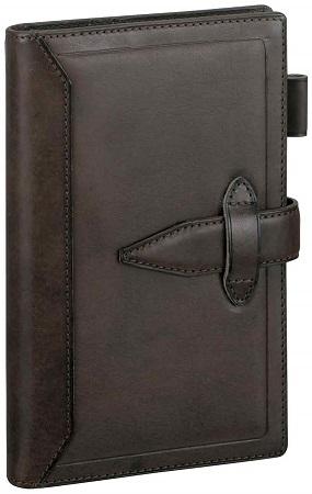 ダ・ヴィンチ グランデ 聖書サイズ システム手帳 ロロマクラシック ダークブラウン DB3011E 【レイメイシステム手帳】