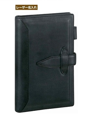 【名入れ】 ダ・ヴィンチ グランデ 聖書サイズ システム手帳 ロロマクラシック ブラック DB3011B 名入れ 【レイメイシステム手帳】