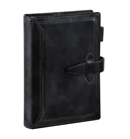ダ・ヴィンチ グランデ 聖書サイズ システム手帳 ロロマクラシック リング24mm ブラック DB3014B 【レイメイシステム手帳】
