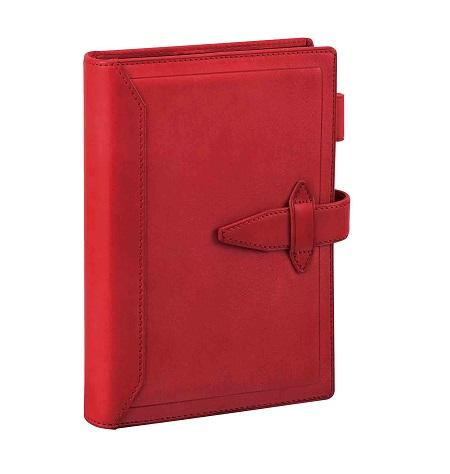 ダ・ヴィンチ グランデ 聖書サイズ システム手帳 ロロマクラシック リング24mm レッド DB3014R 【レイメイシステム手帳】
