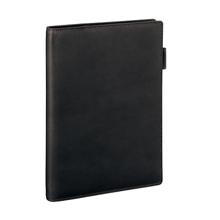 ダ・ヴィンチ グランデ スリムサイズ A5サイズ システム手帳 オールアース ブラック JDA4052B 【レイメイシステム手帳】