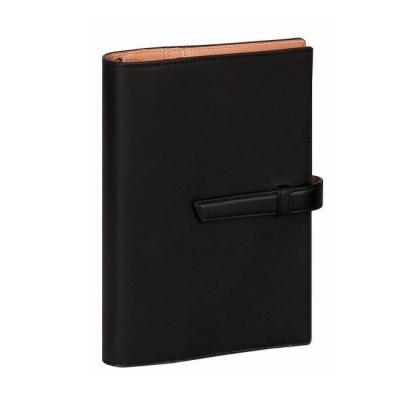 ダ・ヴィンチ グランデ 聖書サイズ システム手帳 アースレザー ブラック DB1312B 【レイメイシステム手帳】