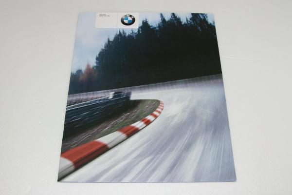 BMW M3 CSL ドイツ語 カタログ 2003