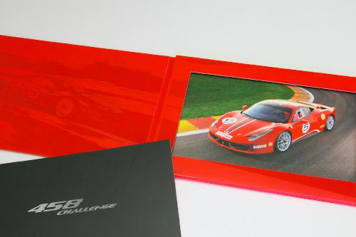 フェラーリ 458 チャレンジ ポートフォリオ 2010 カタログ