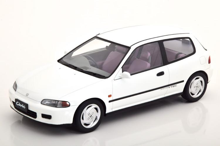 TARMAC 1/18 ホンダ シビック EG6 SIR 2 1993 ホワイト 250台限定 Tarmac 1:18 Honda Civic EG6 SIR II 1993 white Limited Edition 250 pcs