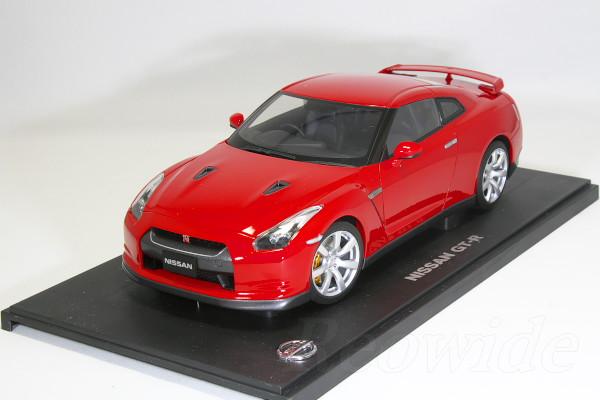 日産特注 オートアート 1/18 日産 GT-R R35 レッド