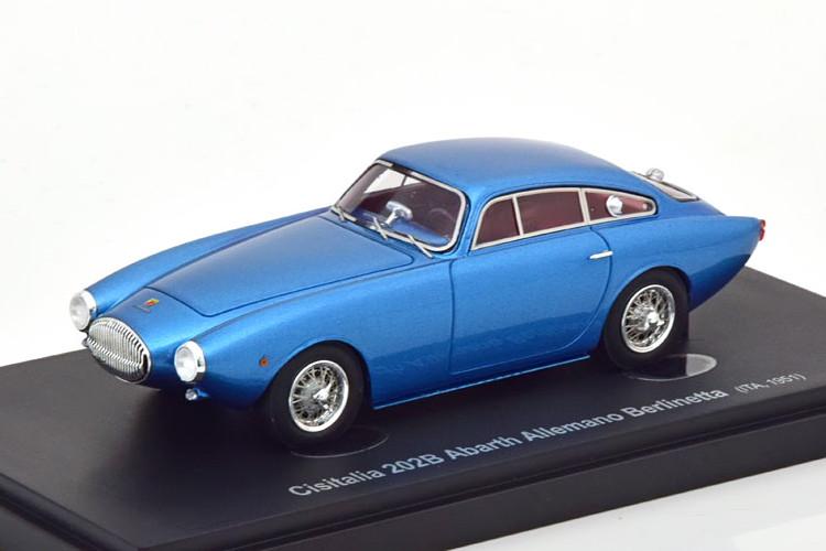 autocult 1/43 チシタリア 202B アバルト アレマーノ ベルリネッタ 1951 メタリックブルー autocult 1:43 Cisitalia 202B Abarth Allemano Berlinetta 1951 bluemetallic