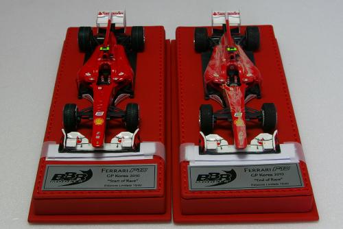 BBR 1/43 フェラーリ F10 GP Korea 2010
