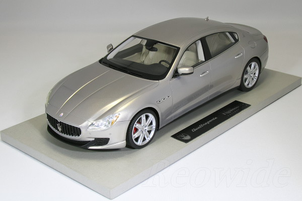 Top Marques 1/18 マセラティ クワトロポルテ 2013 ベージュメタリック By BBR