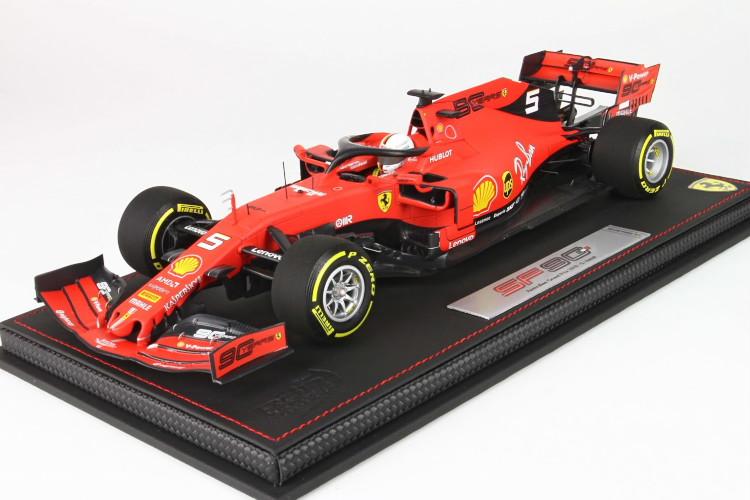 BBR 1/18 フェラーリ SF90 オーストラリアGP ベッテル N 5 レッド BBR 1:18 Ferrari SF90 GP Australia Vettel N 5 RED