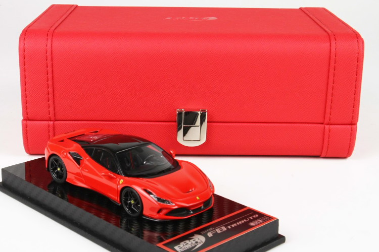 BBR 1/43 フェラーリ F8 トリビュート レッド 100台限定 BBR 1:43 Ferrari F8 TRIBUTO RED Limited Edition 100 pcs