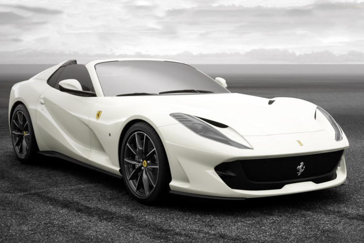 BBR 1/18 フェラーリ 812 GTS ホワイト 32台限定 BBR 1:18 Ferrari 812 GTS redmetallic Limited white Edition 32 pcs