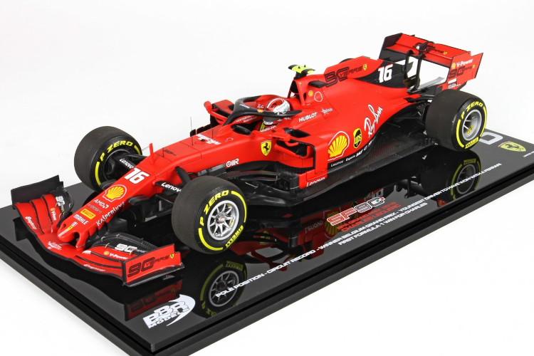 BBR 1/43 フェラーリ SF90 ベルギーグランプリ 2019 レッド 200台限定 BBR 1:43 Ferrari SF90 Belgium Gran Prix 2019 RED Limited Edition 200 pcs
