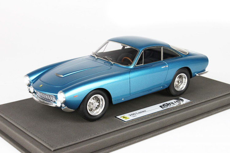 BBR 1/18 フェラーリ 250 GT ベルリネッタ ルッソ メタリックブルー 32台限定 BBR 1:18 Ferrari 250 GT Berlinetta Lusso metallic blue Limited Edition 32 pcs