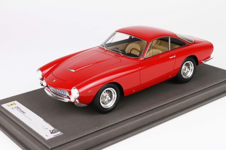 BBR 1/18 フェラーリ 250 GT ベルリネッタ ルッソ レッド 12台限定 BBR 1:18 Ferrari 250 GT Berlinetta Lusso red Limited Edition 12 pcs