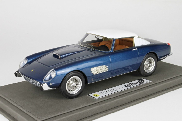BBR 1/18 フェラーリ 4.9 スーパーファスト S/N 0719 SA 1957 ブルー 500台限定 BBR 1:18 Ferrari 4.9 Superfast S/N 0719 SA 1957 blue red Limited Edition 500 pcs